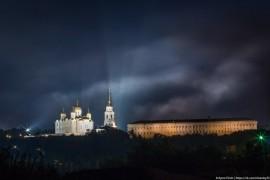 Красоты ночного Владимира
