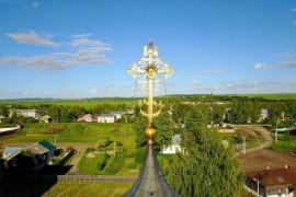 Крест Георгиевского собора в Юрьев-Польском