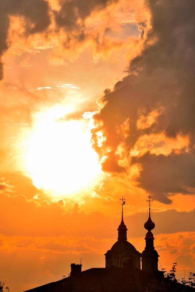 Мгновения июльского заката во Владимире 02