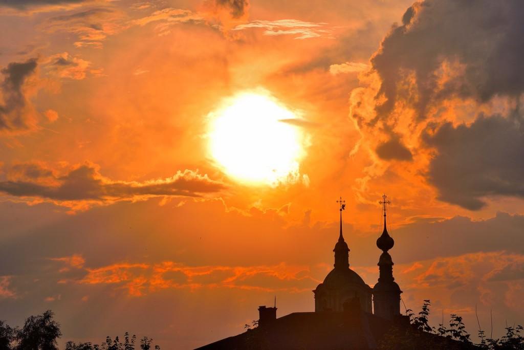 Мгновения июльского заката во Владимире 03