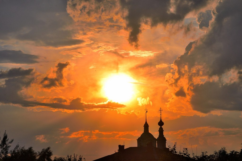 Мгновения июльского заката во Владимире 05