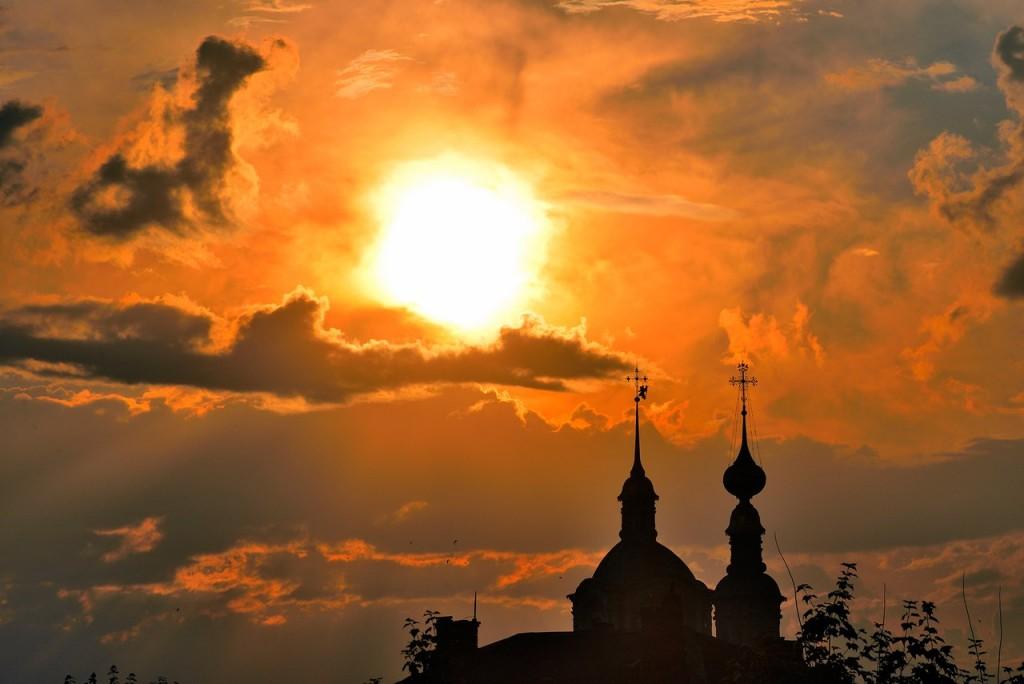 Мгновения июльского заката во Владимире 06
