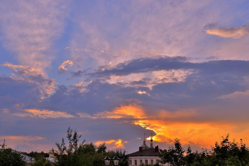 Мгновения июльского заката во Владимире 09