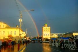 Муром, радуга на 8 июля