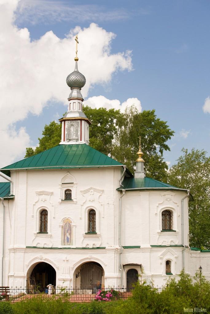Небылое, Успенский Косьмин мужской монастырь.