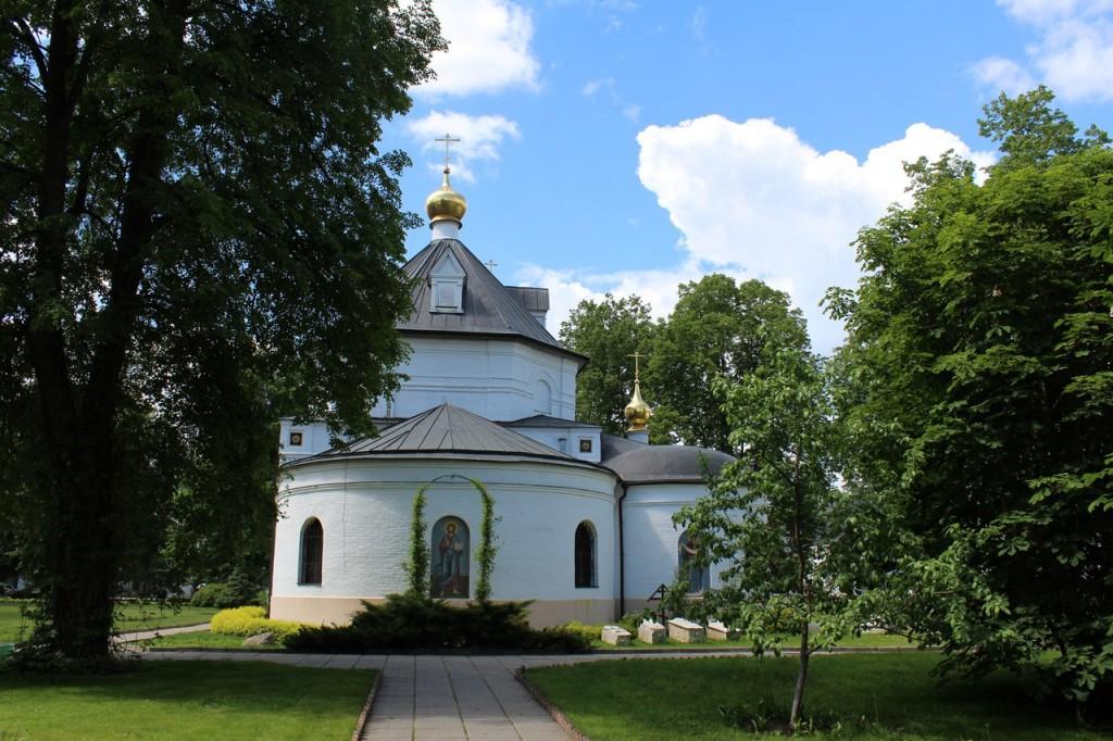 Свято-Троицкий Стефано-Махрищский монастырь 2017г 06