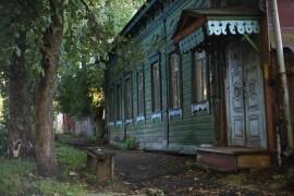 Ул. Герцена, Осьмова и Ильинская-Покатая, город Владимир