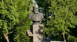 Цветущий Владимир. Садовая площадь. Памятник Танееву С.И.