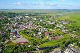 Юрьев-Польский Владимирской области с высоты птичьего полета