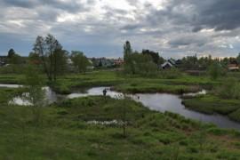 поселок им. Горького, Камешковский р-н рыбак на Тальше