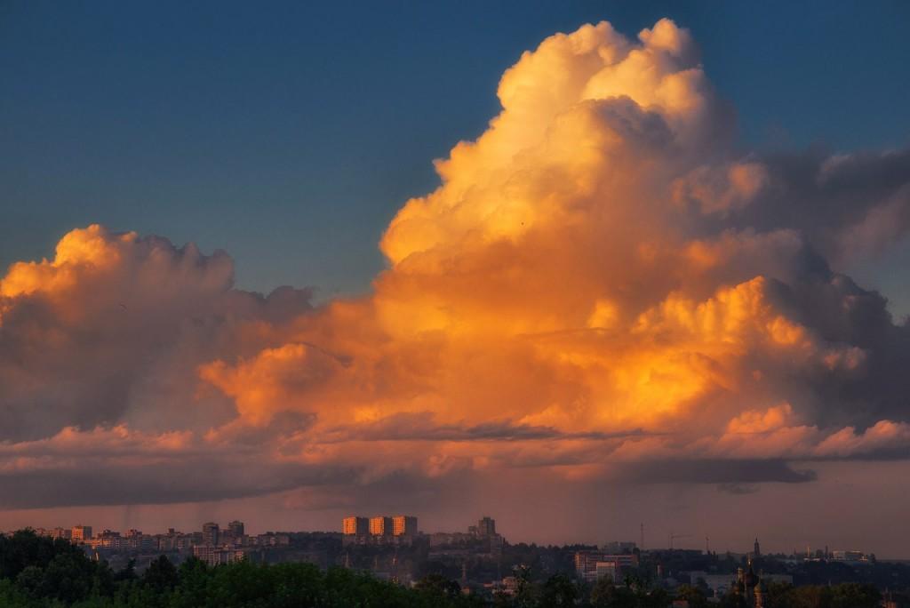 Апельсиновые закаты во Владимире (август 2017) 07