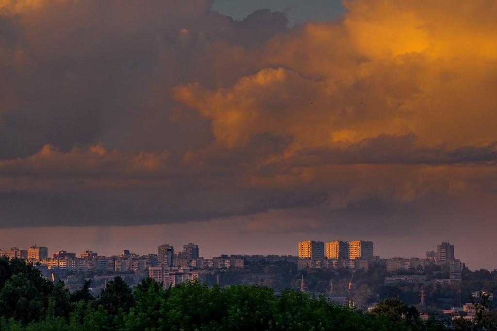 Апельсиновые закаты во Владимире (август 2017) 08