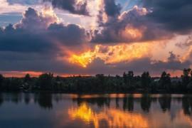 Еще один закат на Содышке (Владимир, август 2017)