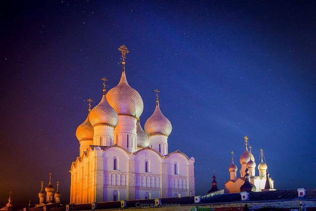 Звёздное небо над Ростовом Великим 01