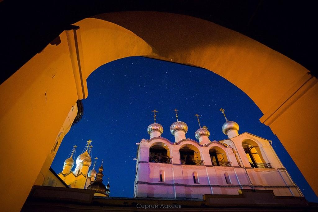 Звёздное небо над Ростовом Великим 02