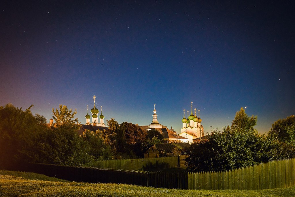 Звёздное небо над Ростовом Великим 06