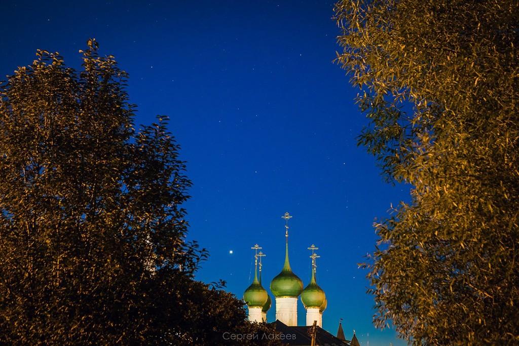 Звёздное небо над Ростовом Великим 07
