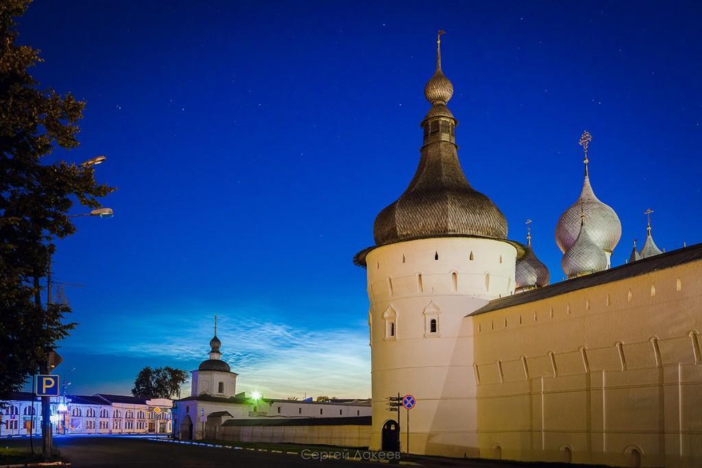 Звёздное небо над Ростовом Великим 08