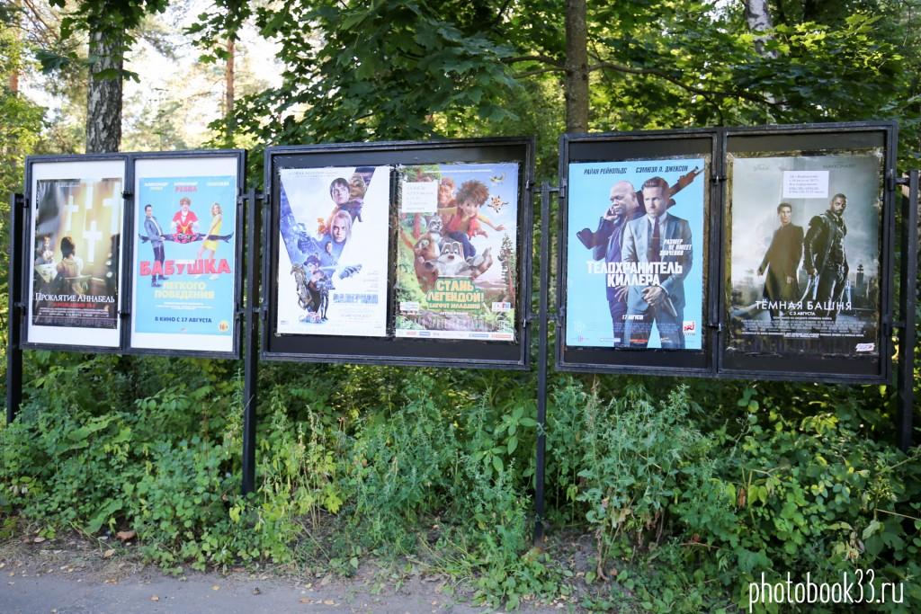 Кинотеатр в Муроме (Вербовский). Афиша