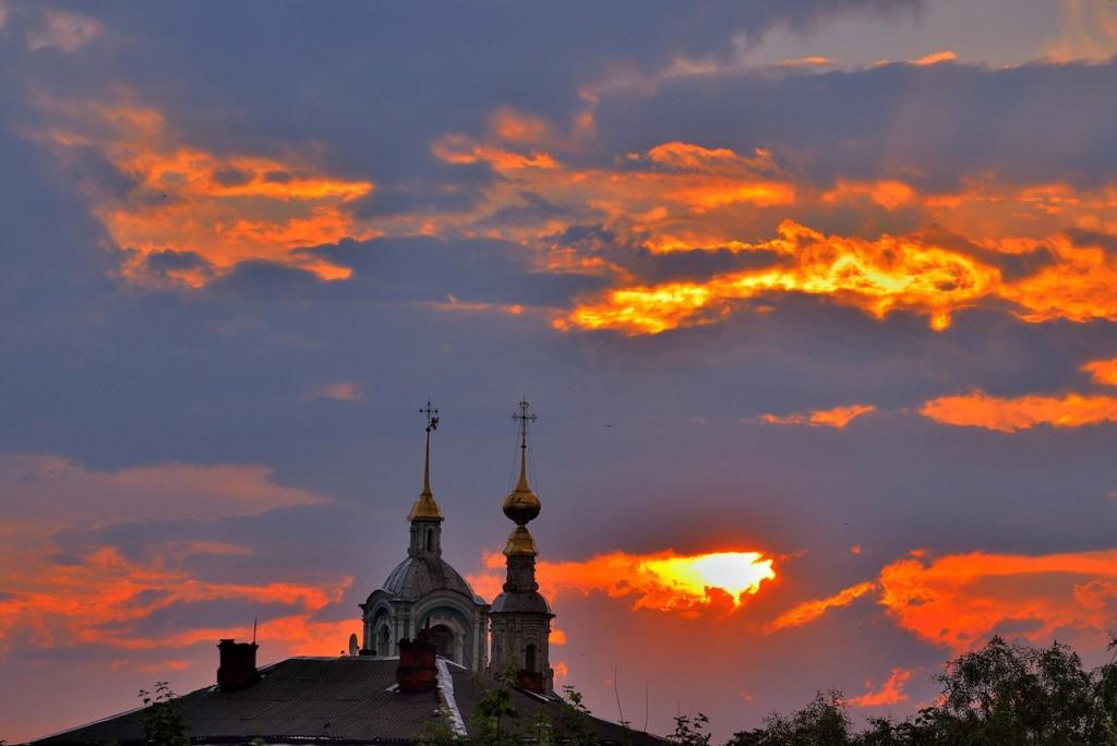 Мгновения июльского заката во Владимире - II 03