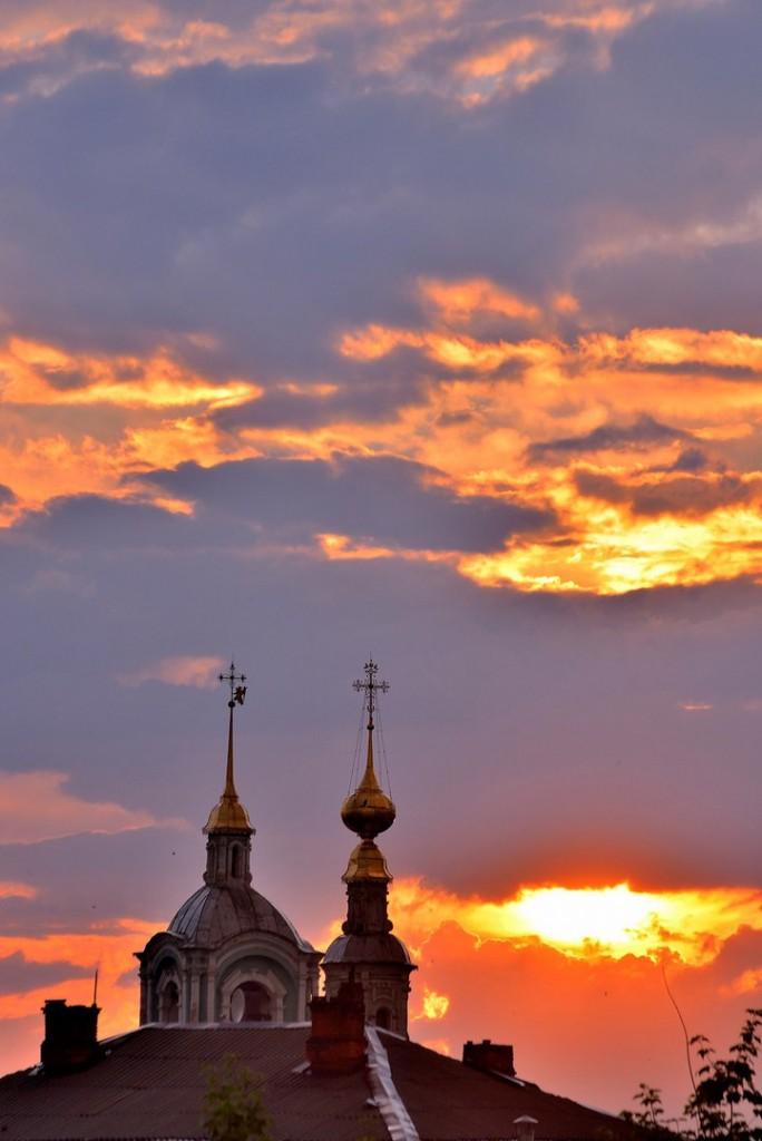 Мгновения июльского заката во Владимире - II 04