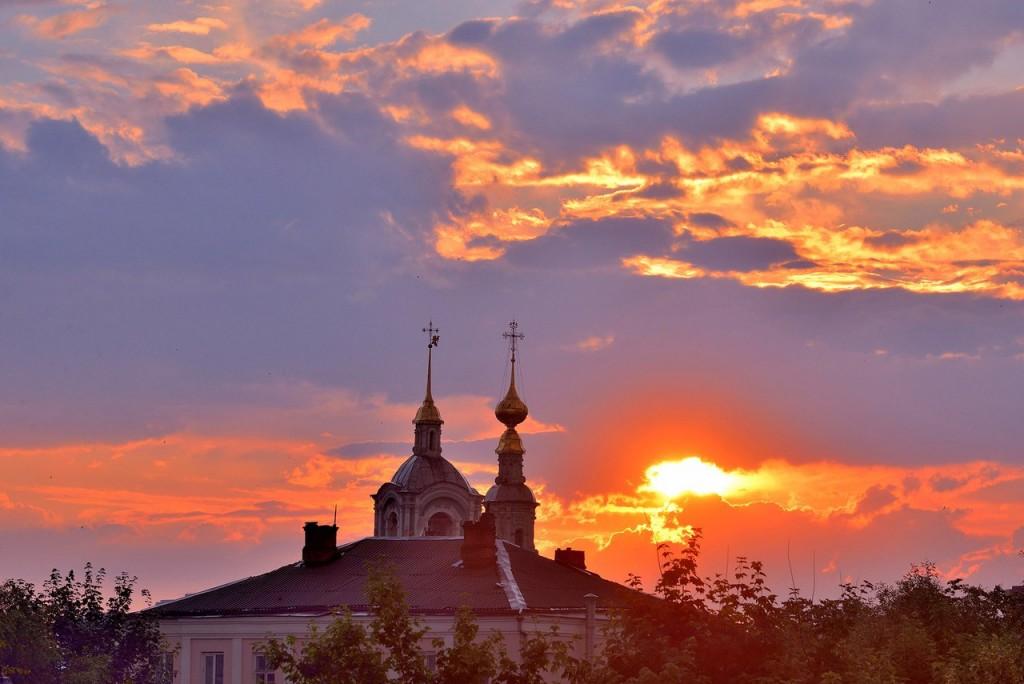 Мгновения июльского заката во Владимире - II 06