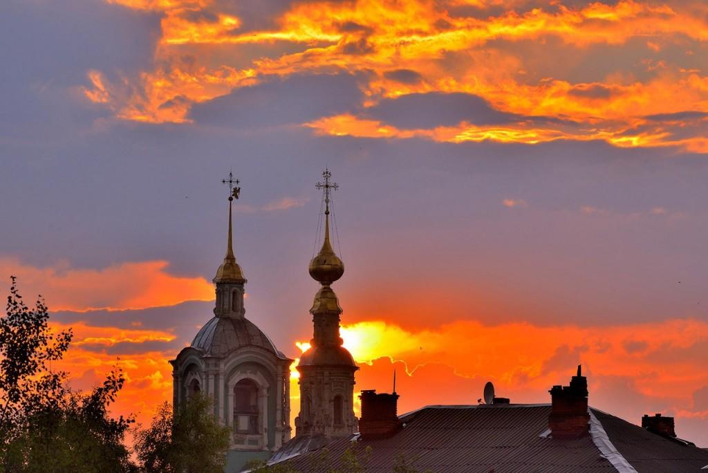 Мгновения июльского заката во Владимире - II 07