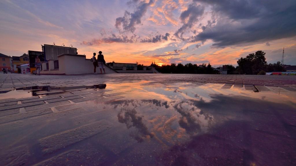 Мгновения июльского заката во Владимире - II 10