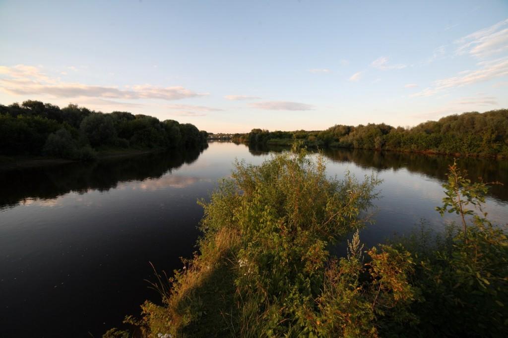Место впадения Нерли в Клязьму
