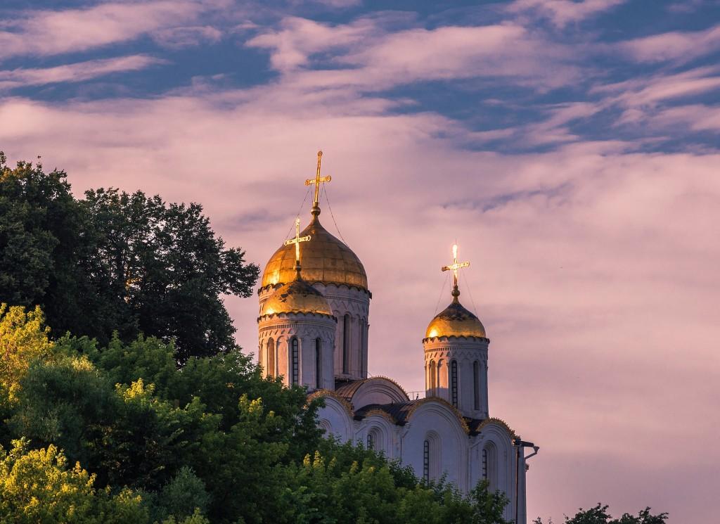 На закате в июле, г. Владимир 06
