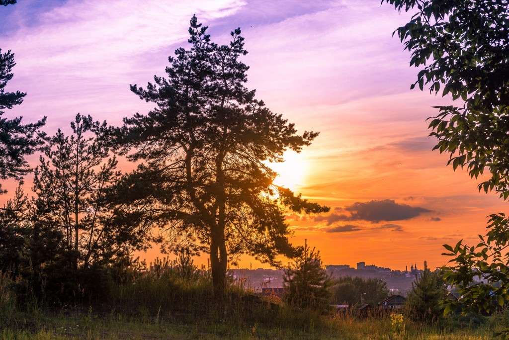 На закате в июле, г. Владимир 09
