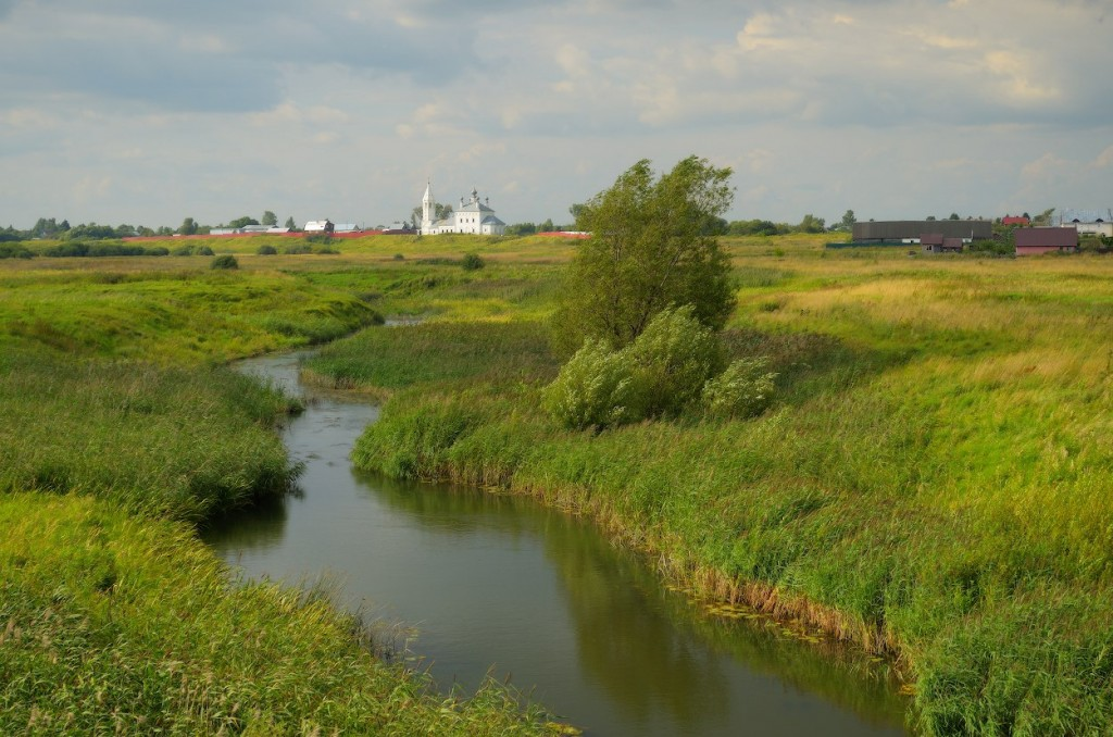 Село Менчаково, река Ирмес, Суздальский р-н