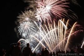 Шоу фейерверков в Муроме на День Города
