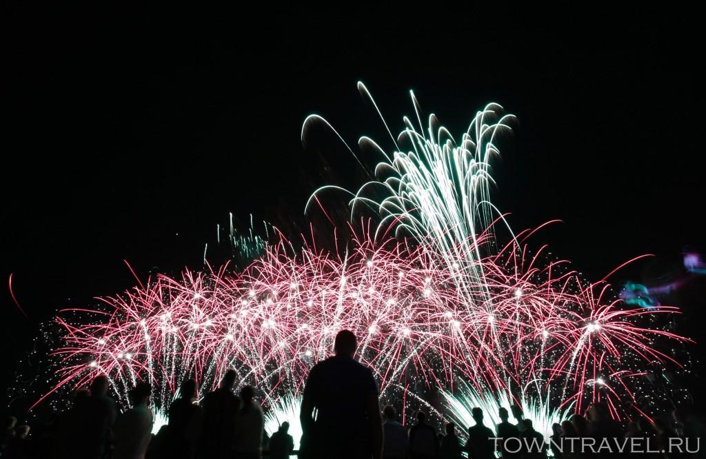 Шоу фейерверков в Муроме на День Города 05