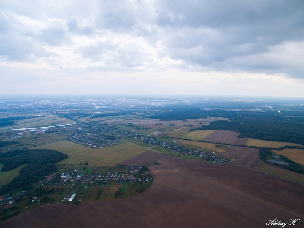 Доброград и Малышево с высоты, Ковровский район 03