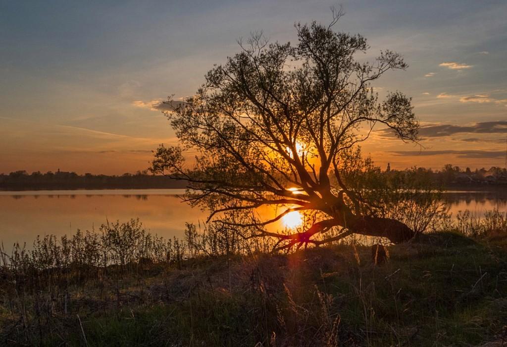 Закат на Киржачском озере
