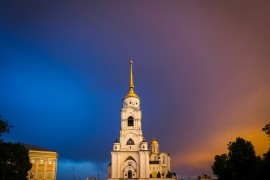 Летний Владимир на закате
