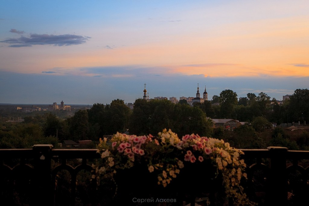 Летняя радуга во Владимире 08