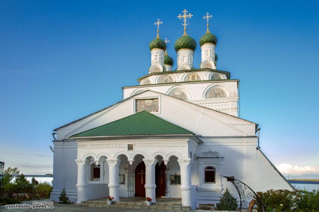 Лето в Богоявленском Мстёрском мужском монастыре