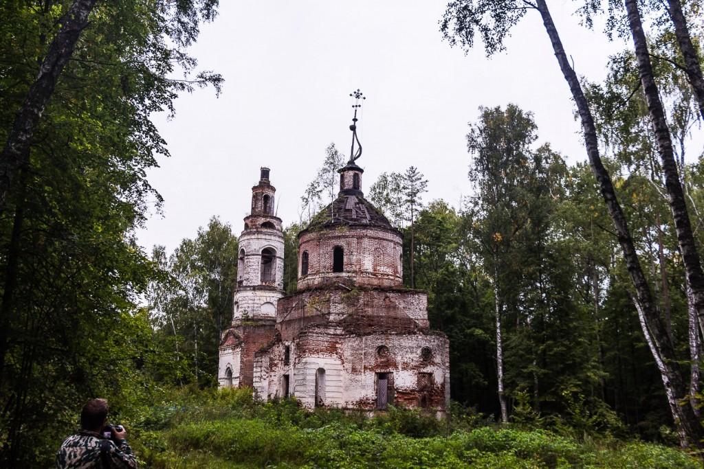 Погост Венец, церковь Спаса Преображения 05