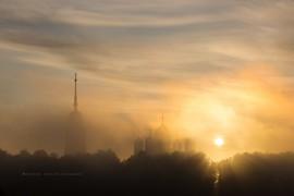 Туманное утро во Владимире