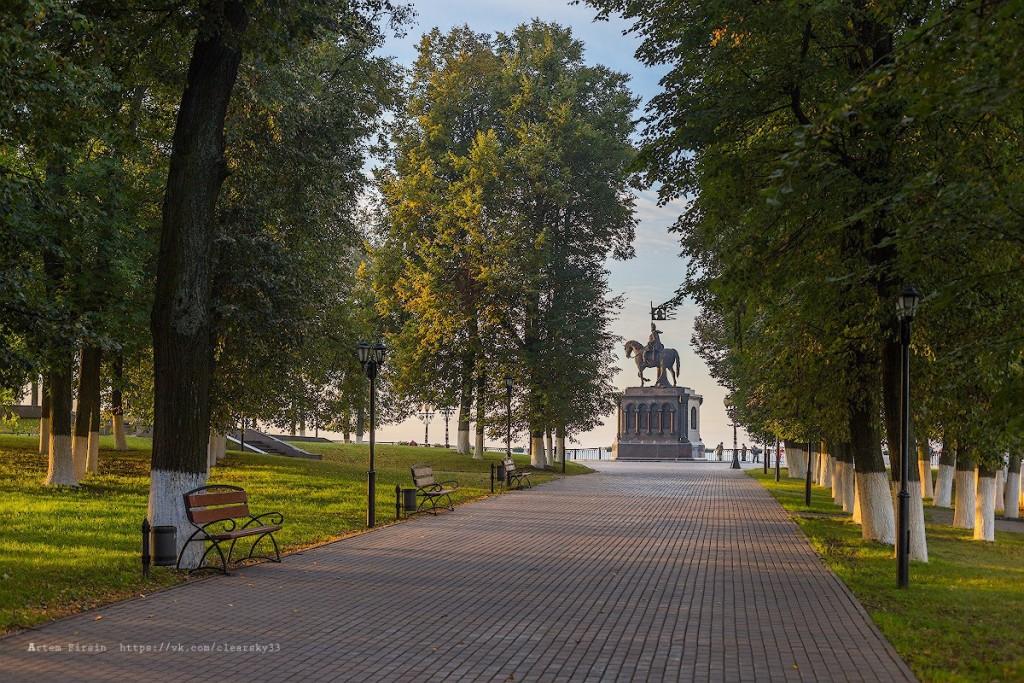Туманное утро во Владимире 05