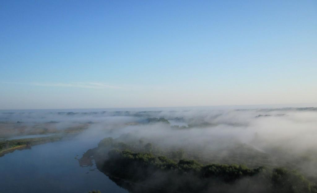Туман над Клязьмой в последний день августа утром около Вязников 02