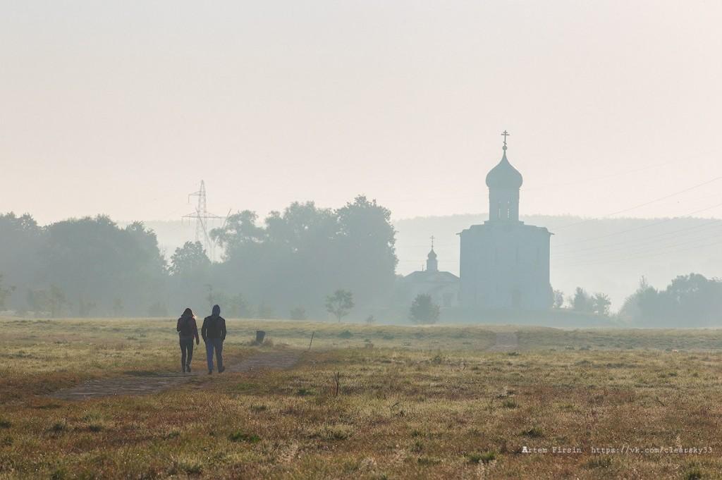 Утренняя прогулка к храму Покрова на Нерли 06