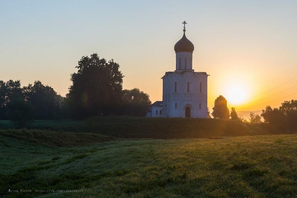 Утренняя прогулка к храму Покрова на Нерли 08