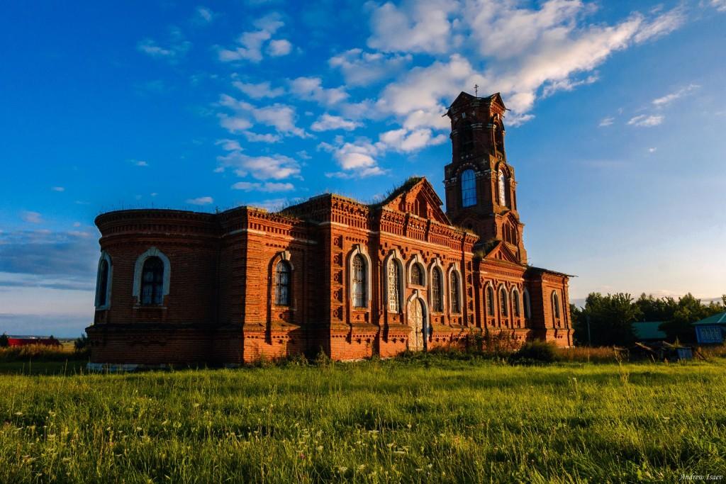 Церковь Казанской иконы Божией Матери, с. Верхозёрье, Меленковский район