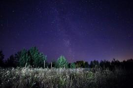 Вечер в деревне Медынцево (Ковровский район)