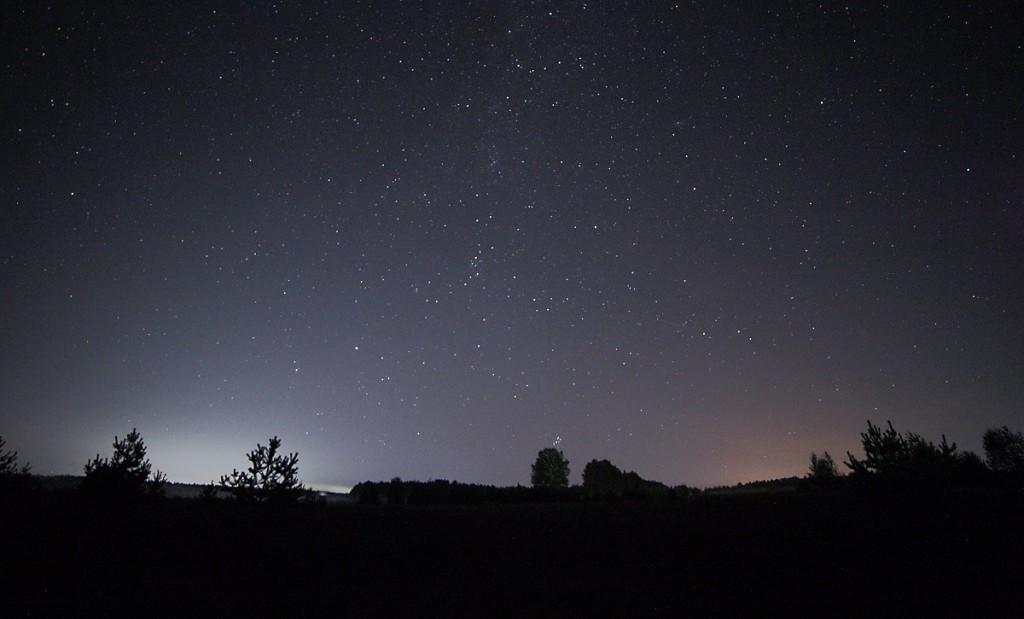 Вечер в деревне Медынцево (Ковровский район) 03