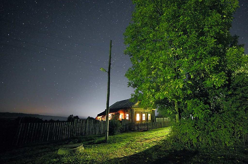 Вечер в деревне Медынцево (Ковровский район) 05