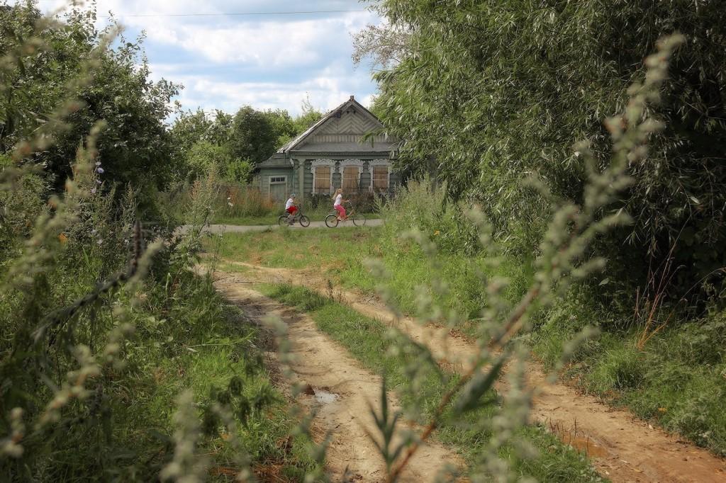 Деревня Окшово Меленковского района 03